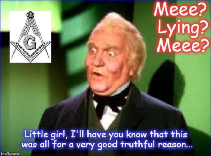 Wizard of Oz ~ Mason ~ Lying ~