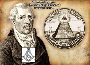 Adam Weishaupt Illuminati haemorrhoids