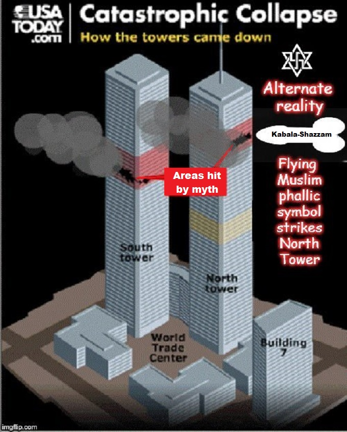 Alternate reality 911 Twin Towers KABALLA SHAZZAM