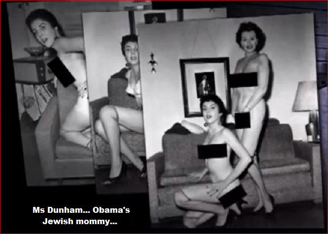 Ann Dunham Obama's Jewish mommy