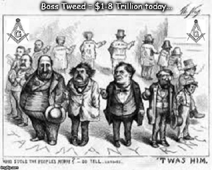 Boss Tweed 1-8 Trillion