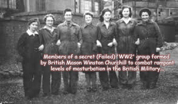 British Military masterbation