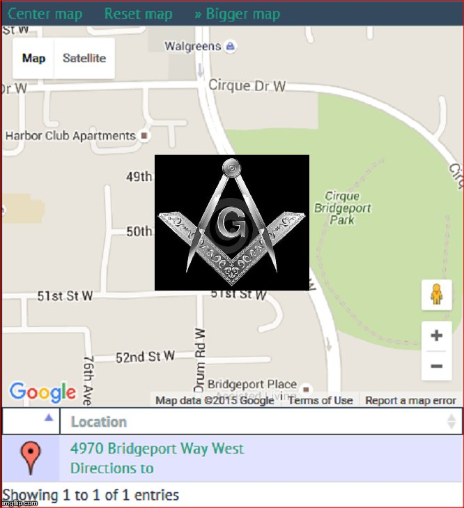 Grand Lodge Central Washington CENTRE