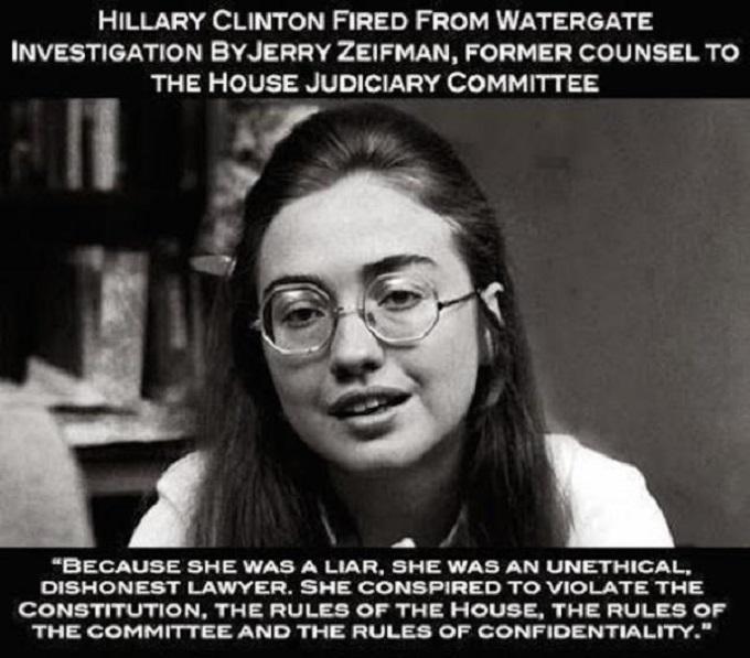 Hilary Clinton Watergate