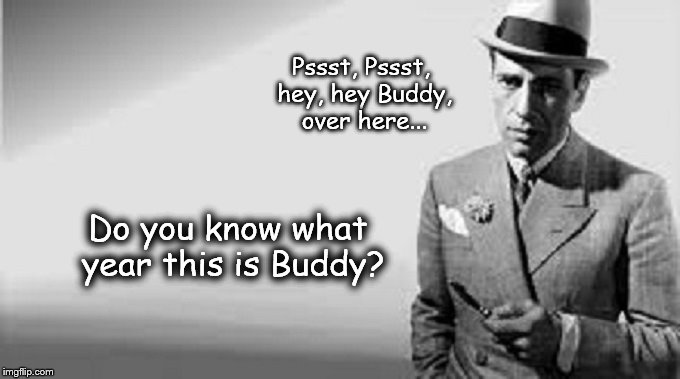 Humphrey Bogart Buddy what year