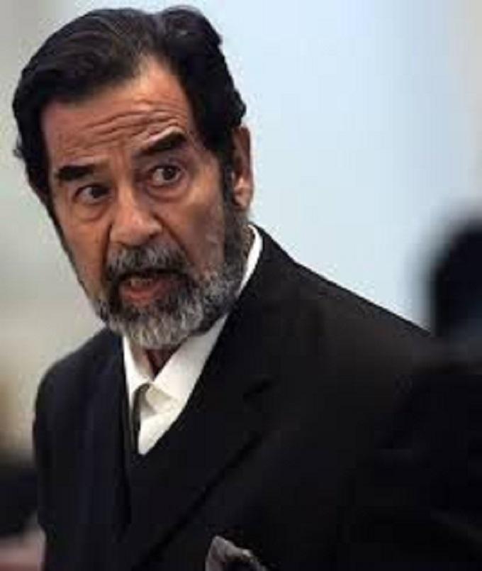 Hussein fake