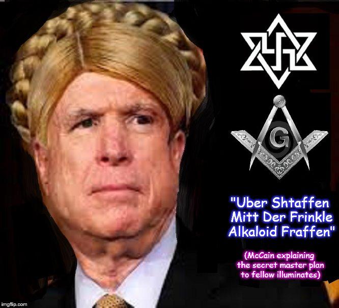 McCain's alkaloid driven explanation