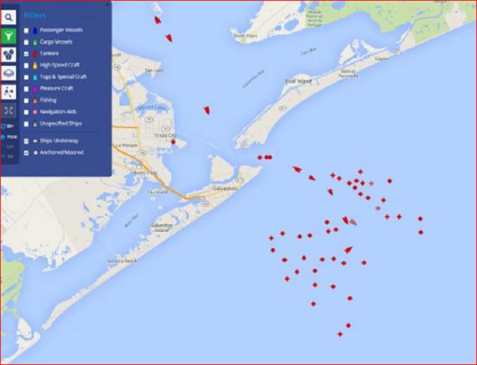 PP Screenshot ships at Galveston