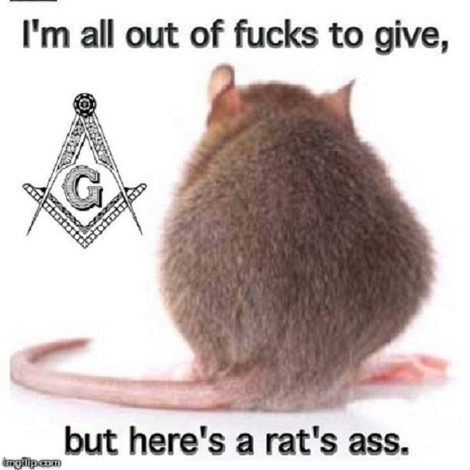 Rat's ass Mason ~