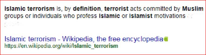 Screenshot Muslim Terror