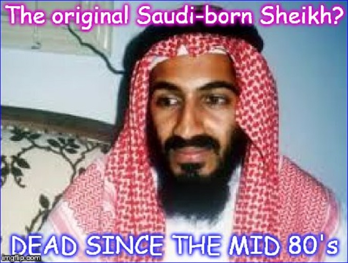 THE ORIGINAL SAUDI-BORN OSAMA SHEIKH LARGE COMMENT
