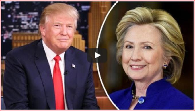 Trump and Hillary lemon