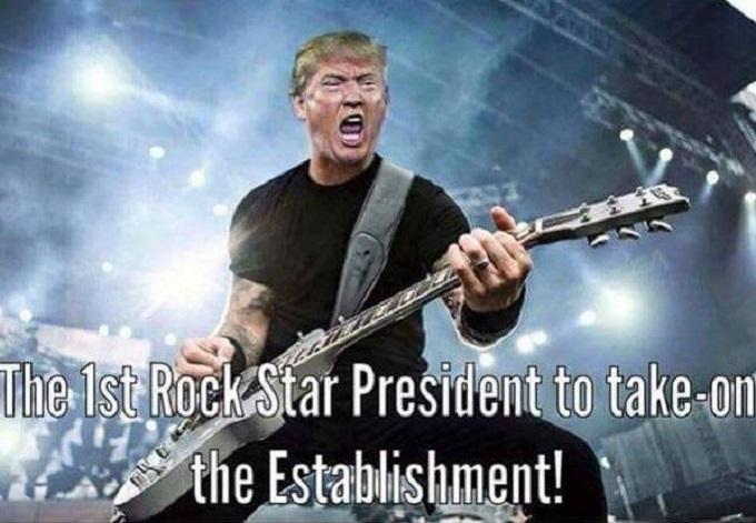 Trump Roick Star