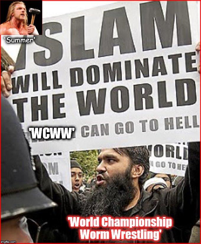 WCWW Worm Wrestling