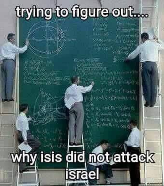 Why did 'ISIS' not atack Israel