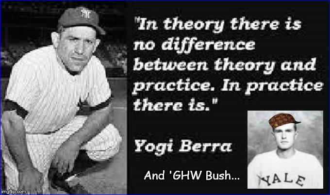 Yogi Bear and GHW Bush