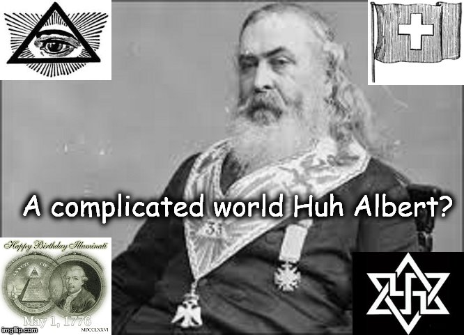 Albert Pike COMPLICATED