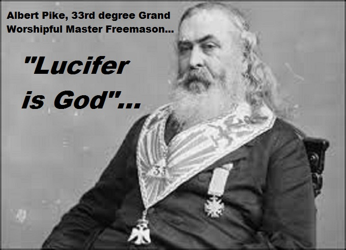 Albert Pike Lucifer is God