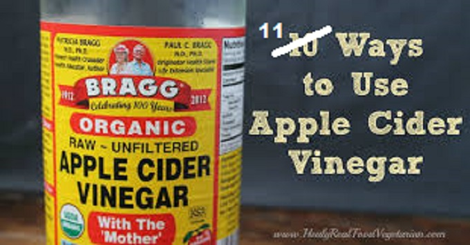 Apple Cider Vinegar 11 ways