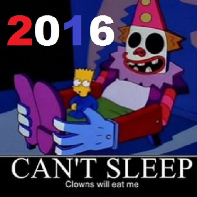 Bart and the Clown ~ 2016 ~