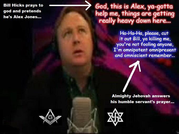Bill prays to whatever, Alex prays to God Mason Swastike star