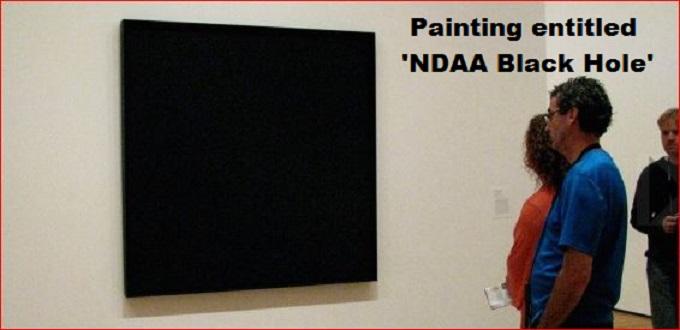 Black Canvas NDAA Black Hole
