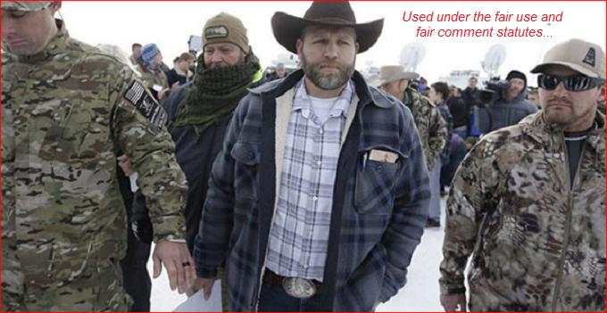 BLF Bundy Sham Oregon FAIR USE FAIR COMMENT
