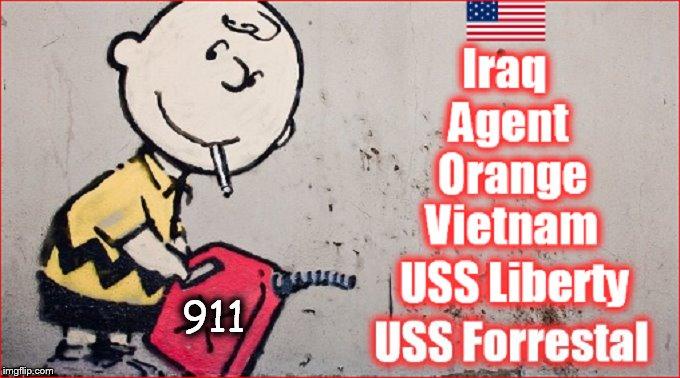 Charlie Brown BONFIRE 911