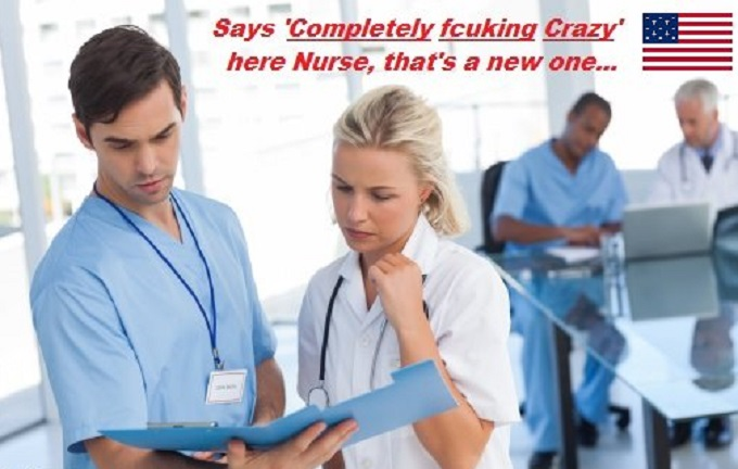 Completely fcuking Crazy Doctor and Nurse