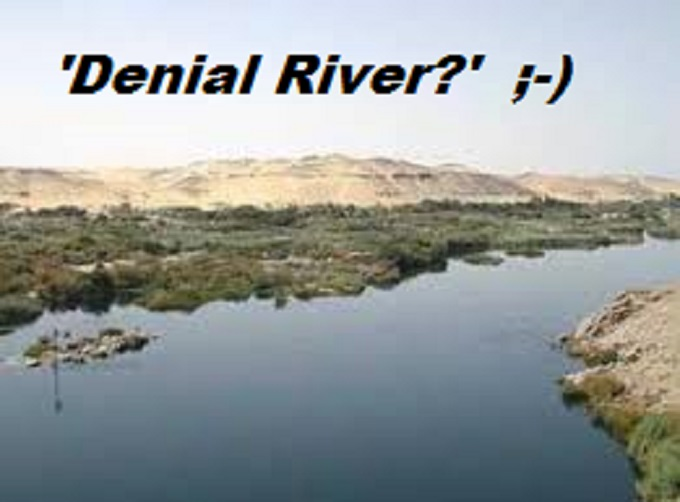 De Nile Denial river