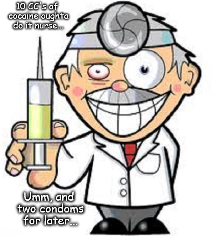 Doctor Cocaine condom