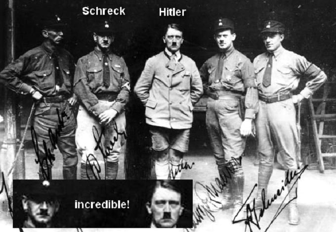 Hitler's dead lookalike driver 'Schreck'
