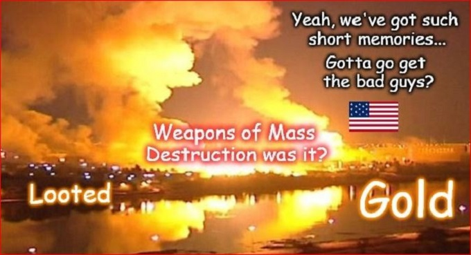 Iraqi Gold WMD lie