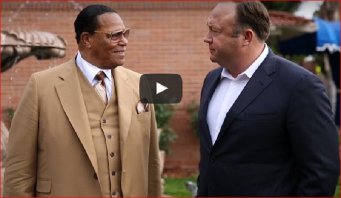 Jones and Farrakhan Could've had the same father or grandpa