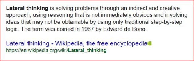 Lateral thinking screenshot