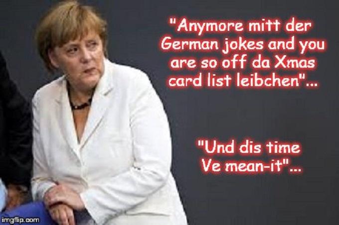 Merkyl German Jokes ~ Angela ~