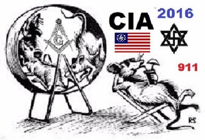 Rat's wheel of life ~ Nazis Jews 911 ~
