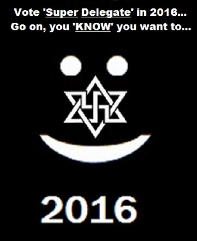 Swastika Smiley Super Delegate 2016