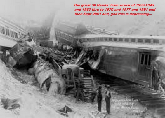 The Great Al Qaeda Train Wreck crash