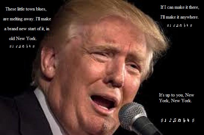 Trump Crooner New York New York