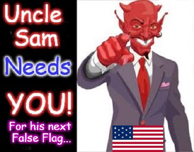 Uncle Sam False Flag ~