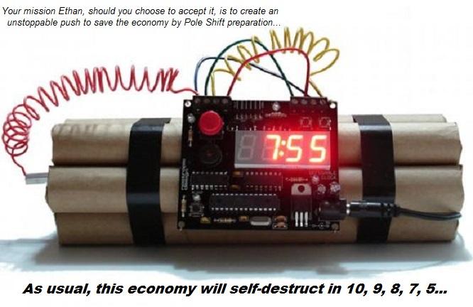 Bomb Clock Mission Impossible Pole Shift