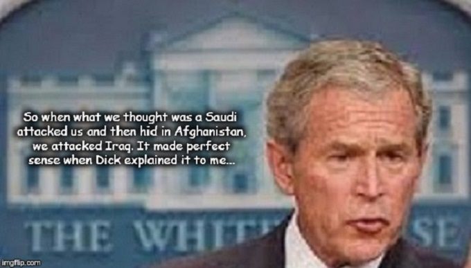 Bush Dubya Dick Saudi White House Afghan Iraq
