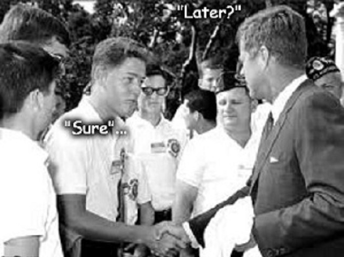 Clinton and Kennedy ~ Later ~ Sure ~ 300