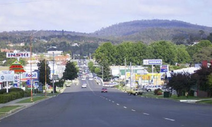 Cooma town
