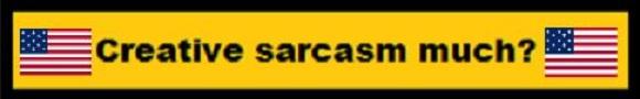 Creative Sarcasm Much