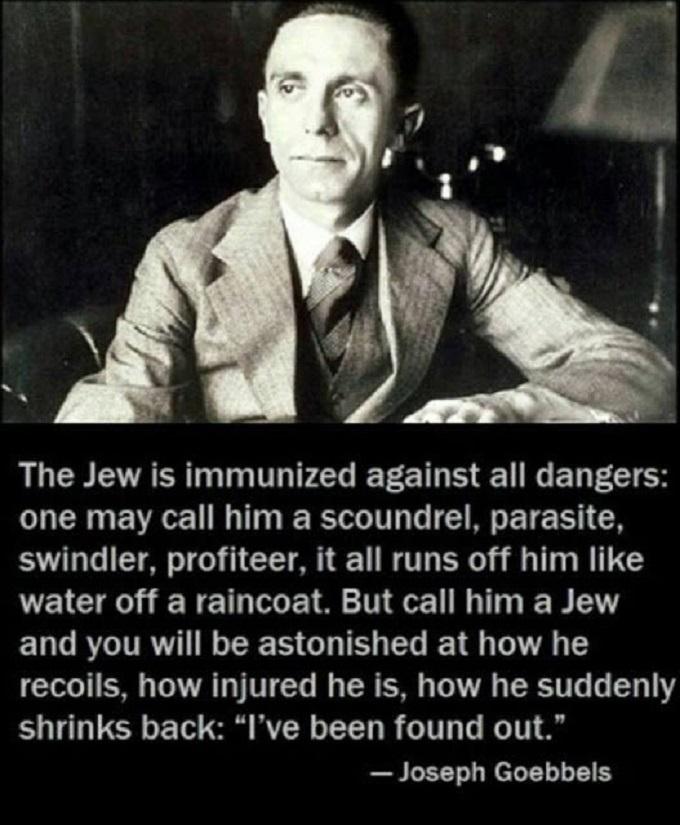 Goebbel the Jew