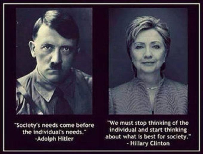 Hitler Clinton