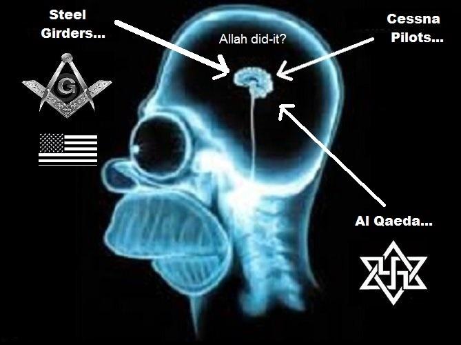 Homer American Mason fascist Allah did it Cessna