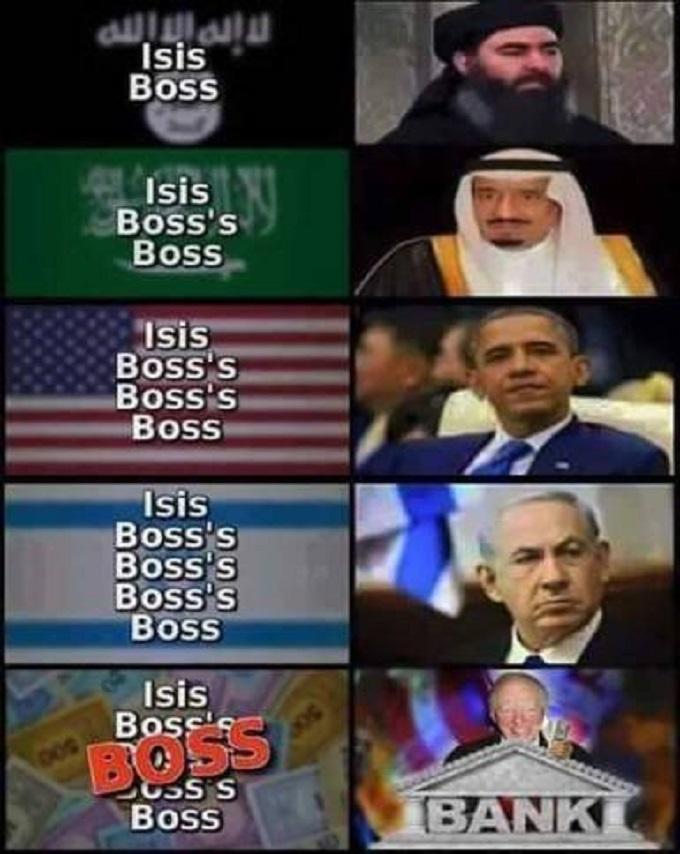 ISIS BOSS'S BOSS
